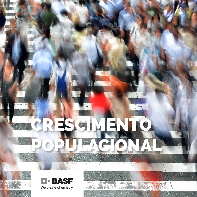 Desafio Crescimento Populacional - BASF